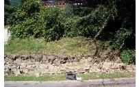 retaining wall failure in covington, Kentucky